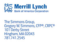 Gregory Simmons, The Simmons Group, Merrill Lynch